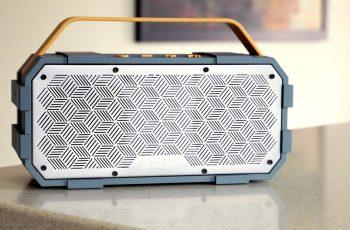 Photive M90 Portable Waterproof Bluetooth Speaker